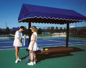 Tennis Court Awnings National Sports Products