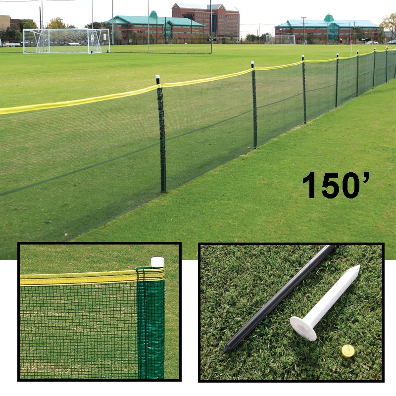 Enduro 200 Homerun Fence System Dark Green National Sports Products